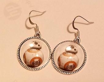 Star Wars BB8 Earrings