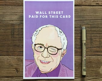 Bernie Sanders Greeting Card