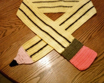 The ORIGINAL Pencil Scarf - large size