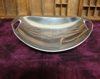 Oval Aluminum Bowl