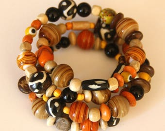 Bracelet - Tribal Beaded Bracelet