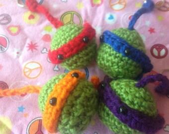 Teenage mutant ninja turtles, TMNT  inspired keychain