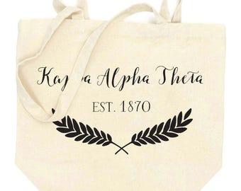 KAPPA ALPHA THETA Tote Bag