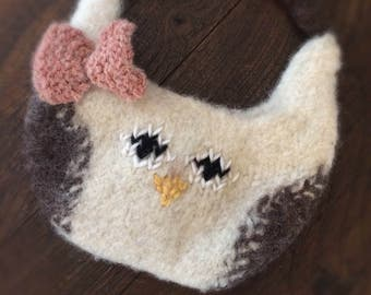 Mini Owl Purse Toddler Purse Child's Purse Spring Easter
