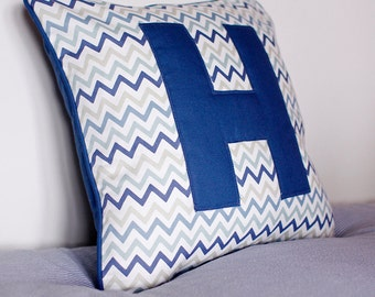 Letter Square Cushion