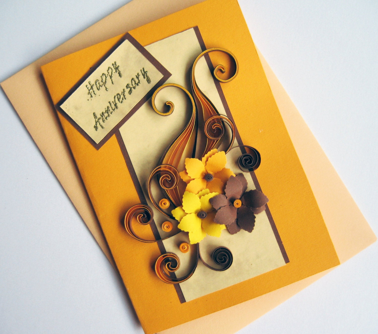 Handmade best wishes card happy birthday card happy zoom m4hsunfo