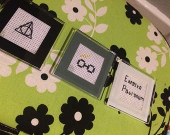 Harry Potter Magnets. Set of three