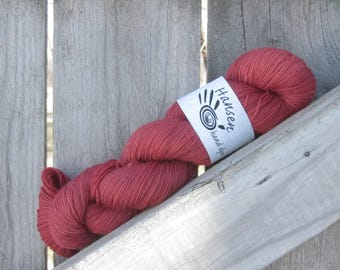 Paprika - Twisty BFL - BFL/Nylon - Hand Dyed Sock Yarn