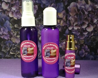 LILAC BODY SPA 2 or 3-Pak | Scented 2 oz Lotion & Aroma Mist | Birthday | Spa and Relaxation|  Skincare | Spa Gift| Mothers Day| For Her