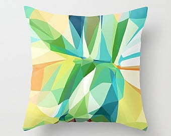 Geometric Pillow Cover, Throw Pillow Cover, Cushion Cover, Accent Pillow, Art Pillow, Couch Pillow, 16x16 18x18 20x20 24x24 26x26 36x36
