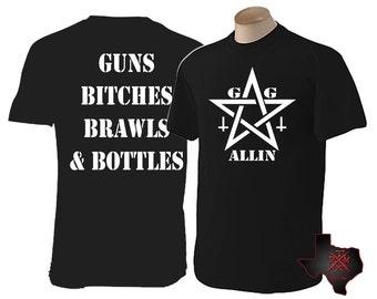 GG Allin - fusils, chiennes, bagarres & bouteilles