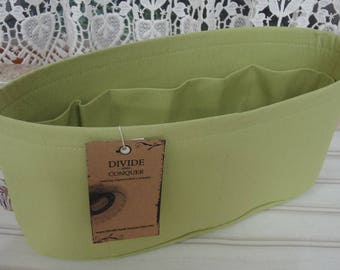 Celery / Purse ORGANIZER Insert SHAPER / Flexible or Stiff Bottom / STURDY / 5 Sizes Available / Check out my shop for more colors & styles