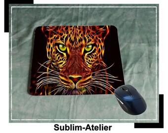 Tapis de souris panthere de feu