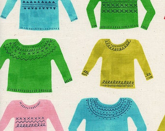 Noel - My Favorite Sweater Natural - Alexia Abegg - Cotton and Steel (5133-1)
