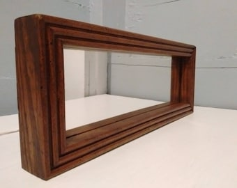 Vintage, Mirror, Small, Rectangle, Framed Mirror, Wall Mirror, Accent Mirror, Entrance Mirror, Teen Room Decor, Rustic RhymeswithDaughter