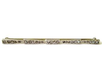 Lapel Pin; Art Deco Pin, Art Deco Lapel Pin, Sterling Silver Pin, Sterling Silver Lapel Pin