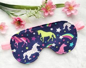 Unicorn Sleep Mask, Unicorn Pajamas
