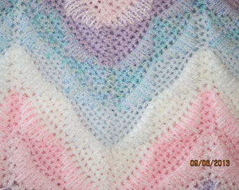 NEW,,, SPECIAL,,, PRICE,,, ***** Darlene's Southwest Ripple Afghan,  Pattern  Only.