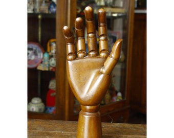 Mannequin Hand, Wooden Hand Modelism, Hands, Human Body Parts, Scetching Model, Model Hand, Home Decor, Palmistry hand , Statue, Figurine