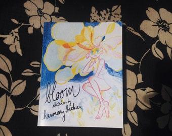 Bloom Sketch Zine
