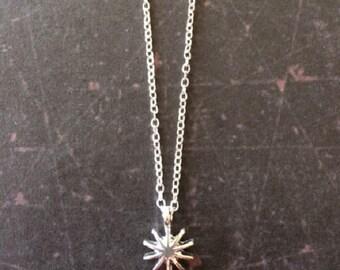 Starburst - Starburst Necklace - Star Burst - Star Necklace - Star Jewelry - Star Pendant - Start Pendant Necklace - Star Charm Necklace