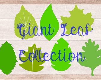Easy diy giant paper flowers templates and tutorials large diy giant paper flower leaf templates diy paper flower kit svg large leaf cut mightylinksfo Choice Image