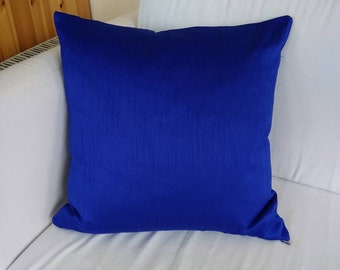 Royal blue luxury cushion covers 18×18 throw pillow ...