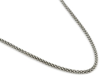 Sterling Silver, beautiful, 2.4MM COREANA CHAIN.925 Sterling, 22 Inch