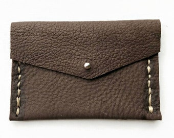 Brown Leather Bag-Brown-Brown Leather-Deerskin