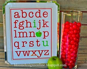 Teacher Alphabet