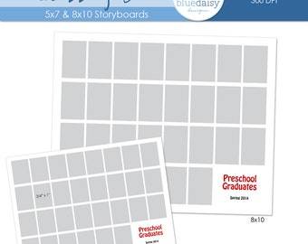 8x10 Classroom Storyboard  (Class Size 30) - Photographer Resources