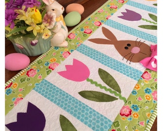 Spring Has Sprung- table runner pattern by Cleo and Me