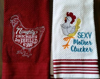 Chicken towel