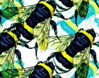 Big Bright Bee Graphic Print.