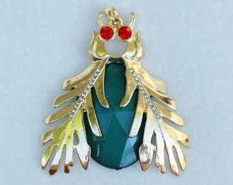 Vintage insect pendant