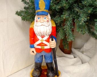 Hand carved santa, Carved Santa, carved wood santa, wood sculpture, wood carving, santa figure, santa carving,wood santa carving,carved wood