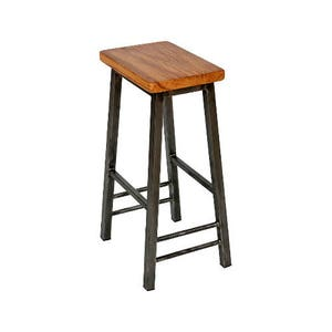 Steve Oakman - Saddle Stool with Oak Seat