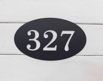 House Number Plaque, Address Sign, Door Number, Metal House Number, Metal Art, Address Number, Number Sign