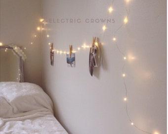 Room Decor, Tapestry Lights, Dorm Decor, Lighting, Dorm Room Decor, Hanging Wall Lights, Dorm Room Headboard, Dorm Decorations PLUG IN (RD)