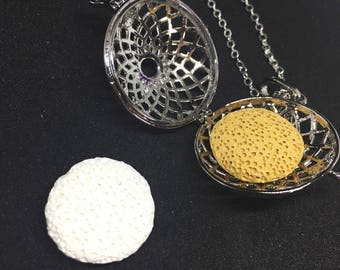 Aromatherapy Personal Diffuser Necklace