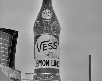 Vess Bottle in St Louis - Fine Art Photograph 5x7 8x10 11x14 16x20 24x30