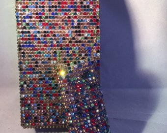 Multi Class rhinestone,Cigarette Pack Holder with bic lighter sleeve