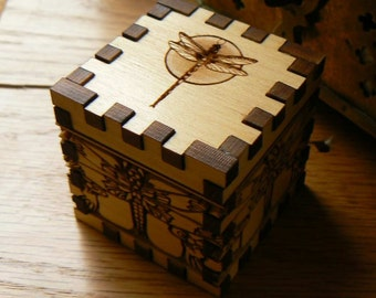 1.8 Double Dragonfly  Cube Box