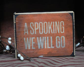 Fall Sign | Halloween Sign | Vintage Sign |