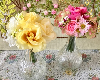 Glass Vases Clear Glass Vase Wedding Vases for Wedding Centerpiece Vases Decorative Vases Clear Vase Bud Vase Flower Vase Vintage Vase Glass