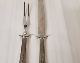 Wallace Sterling Carving set
