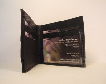 Recycled Rubber Bifold ID Wallet
