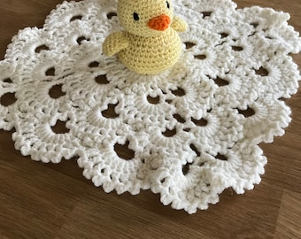 Handmade Chick Baby Soother/Commforter - Ideal New Baby/Shower Gift