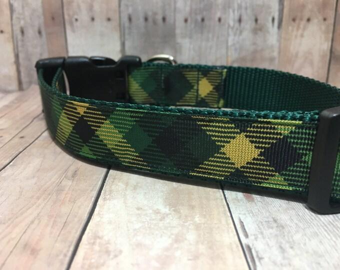 """The Knut   Designer 1"""" Width Dog Collar   CupcakePups Collars   Medium/Large Dog Collar"""