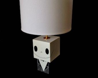 """Grande lampe figurine cubique """"Jack"""""""